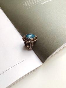 Кольцо с аквамарином image featured