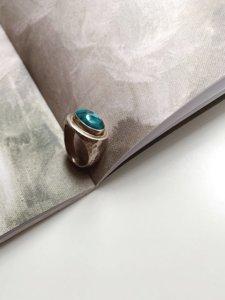 Кольцо с бирюзой image featured